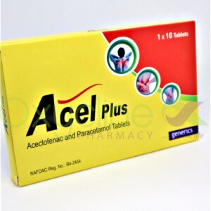 Acel Plus Aceclofenac +Paracetamol