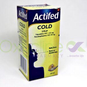 Actifed Syr 60ml