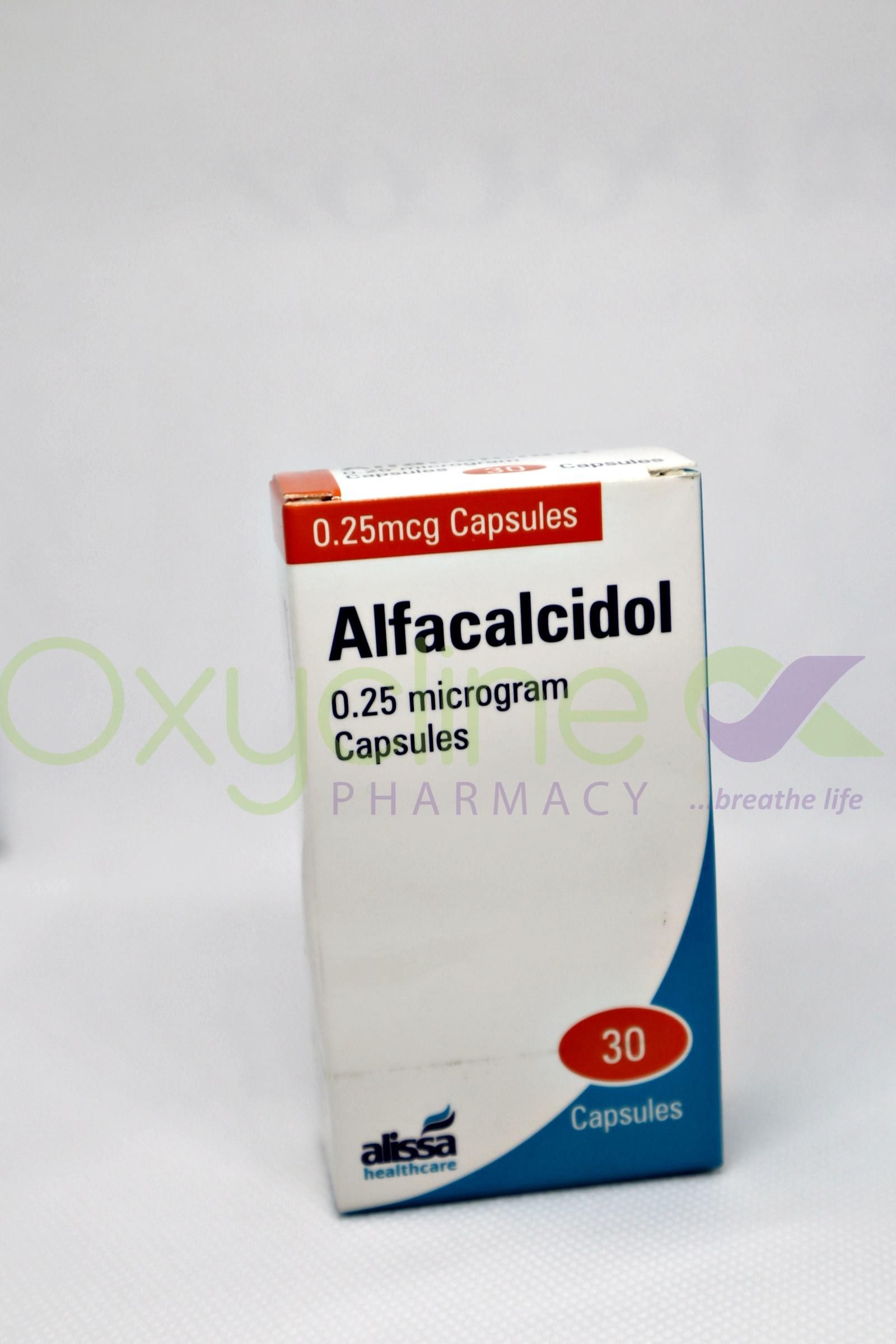 Alfacalcidiol 0.25mcg