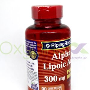 Alpha Lipoic Acid 300mg Plus Biotin Piping Rock