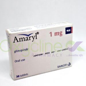 Amaryl Tabs 4mg X 30