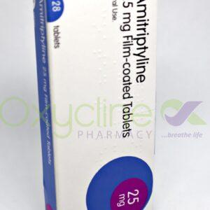 Amitriptyline Tabs 25mg X28 Teva