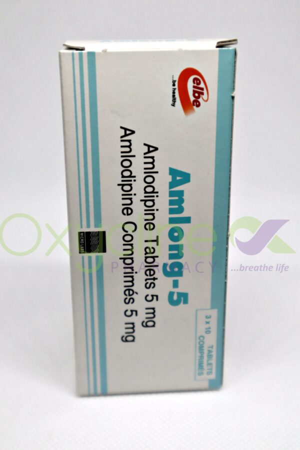 Amlong Tabs 5mg X 10