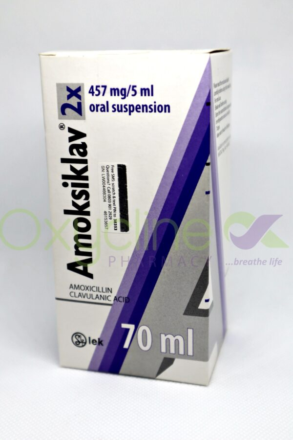 Amoksiklav Susp 457mg 70ml