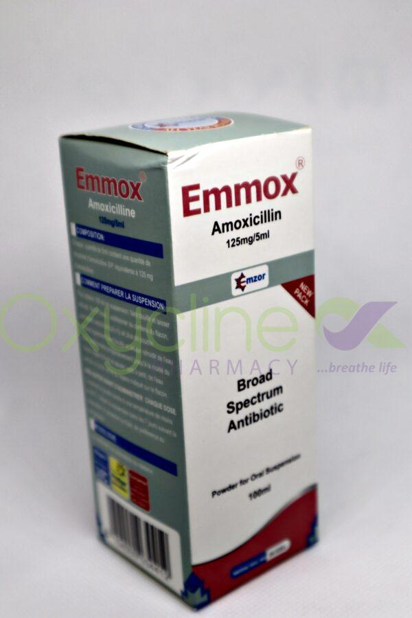 Amoxicilline (Emmox Suspension)