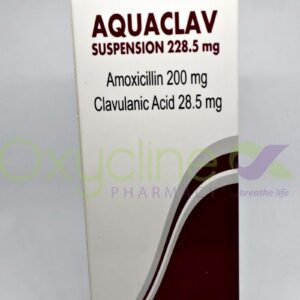 Aquaclav 228.5mg Suspension 100ml