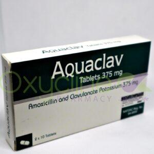 Aquaclav 375mg Tabs X20