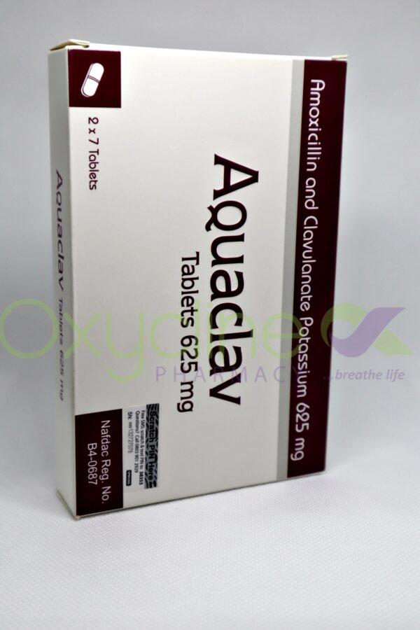 Aquaclav 625mg Tabs X14