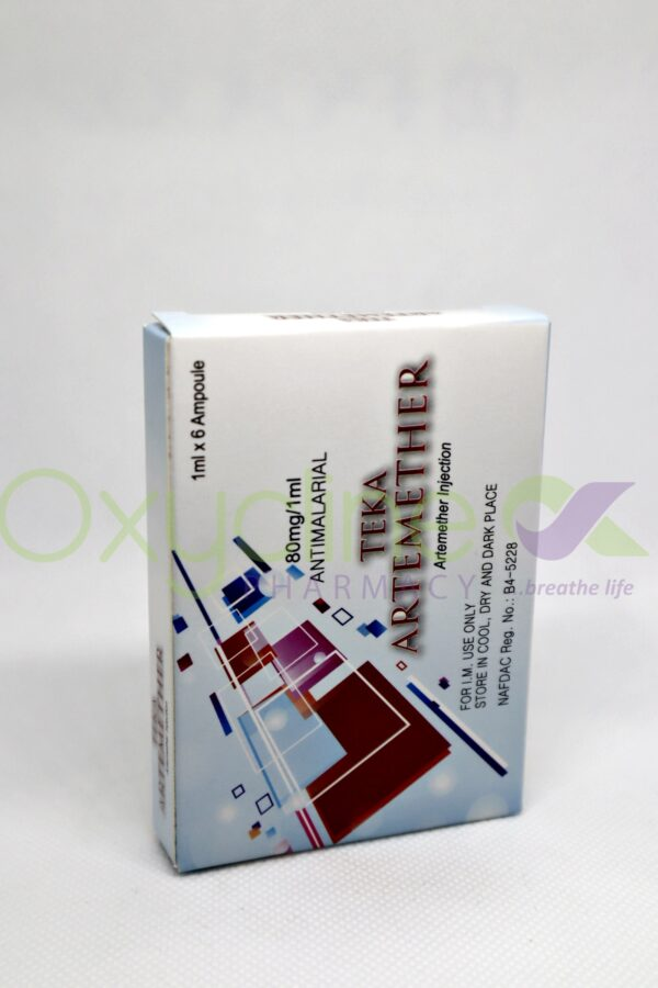 Artemether Inj 80mg X 6