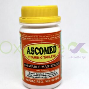 Ascomed Chewable Vitamin C  100