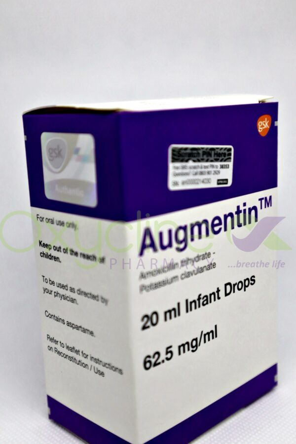 Augmentun Drops 62.5mg 20ml