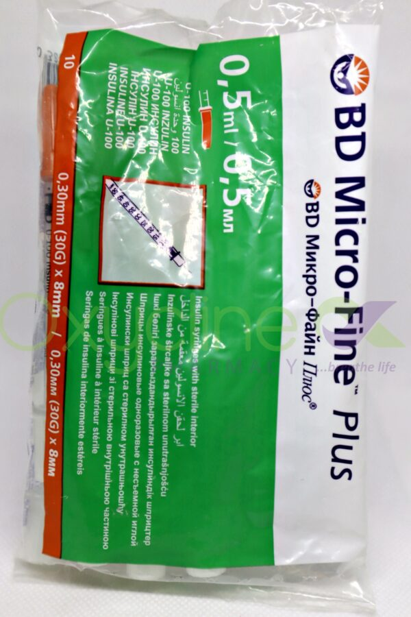 Bd Microfine Plus Syringe X 10