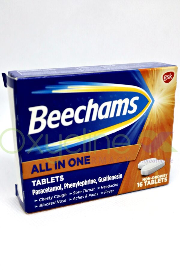 Beechams All In One X16tabs