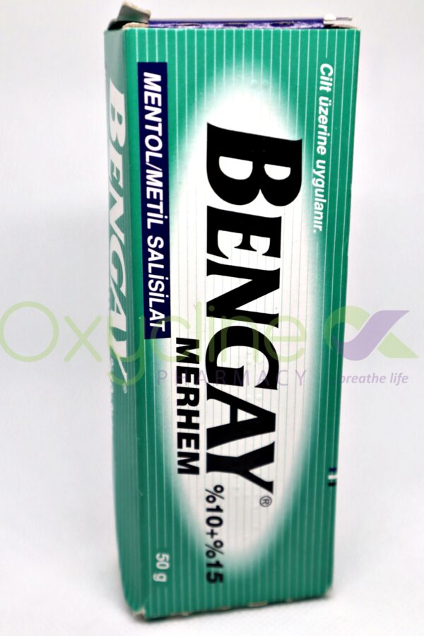 Bengay Pomade Green