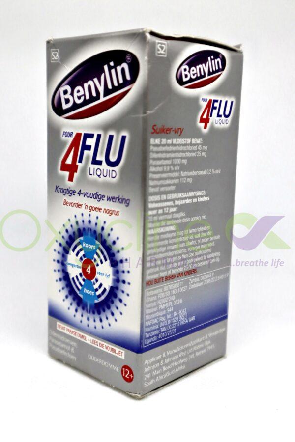 Benylin 4 Flu 200ml