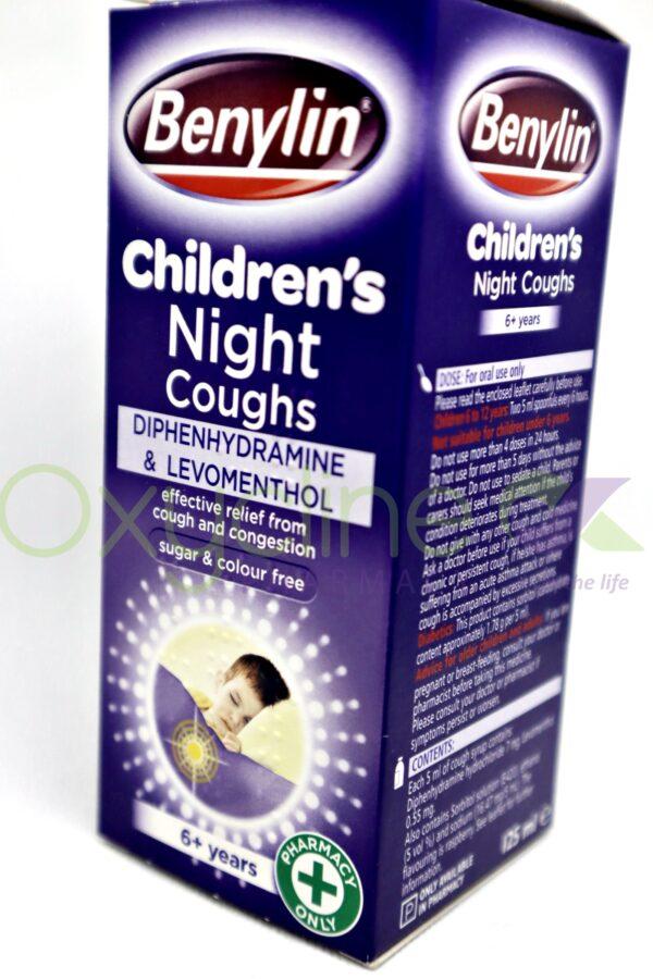 Benylin Children Night Coughs 125ml