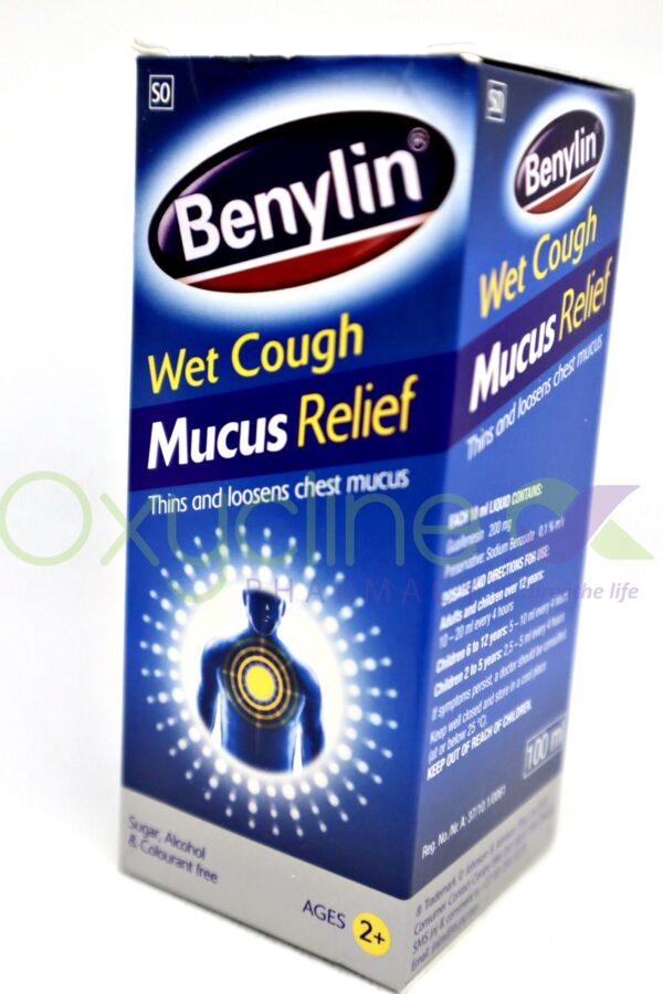 Benylin Wet Cough Mucus Relief 100ml