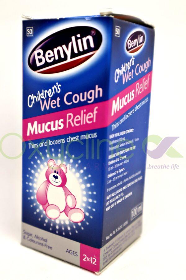 Benylin Child Wet Cough Mucus 100ml