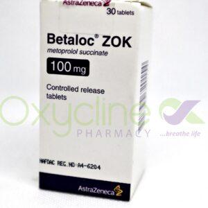 Betaloc Zok 100mg Tabs X30