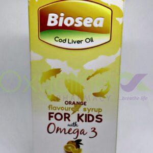 Biosea Cod Liver Oil (Orange (S/S) 120ml