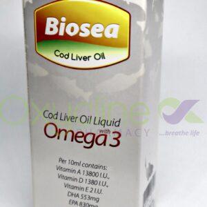 Biosea Cod Liver Oil Syr (Plain) 170ml