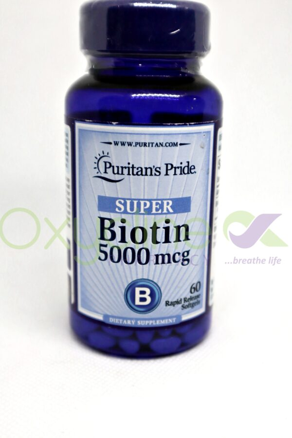 Biotin 5000mcg Puritan