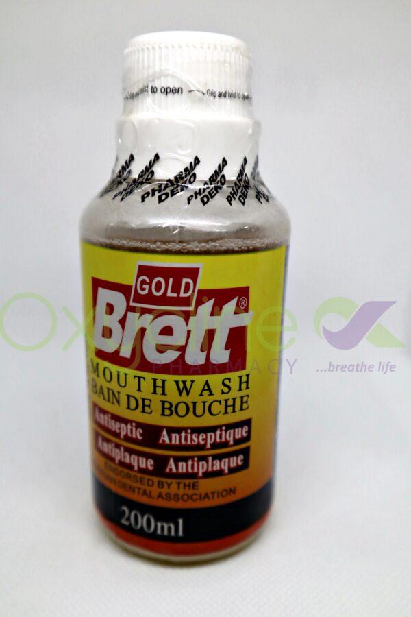 Brett Mouthwash Gold