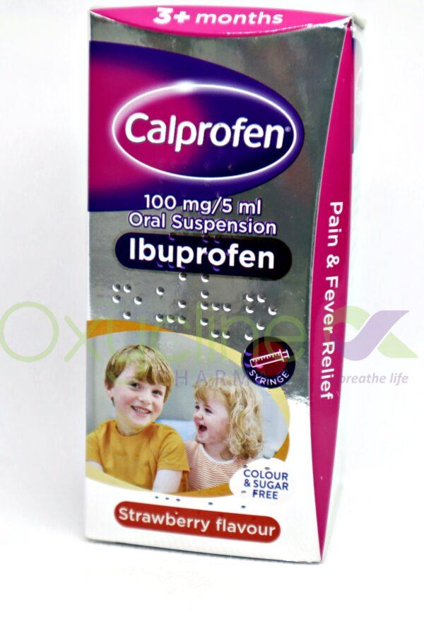 Calprofen Ibuprofen Susp 100ml