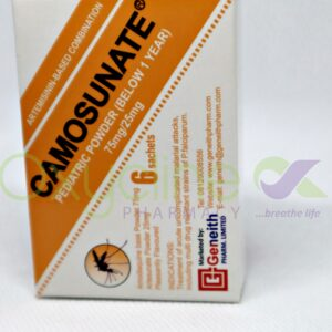 Camosunate Powder X 6 {Paediatric Below 1yr}