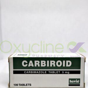 Carbiroid Tabs 5mg X20