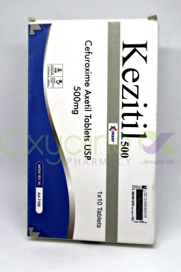 Cefuroxime Axetil (Kezitil) 500 Tabs X 10