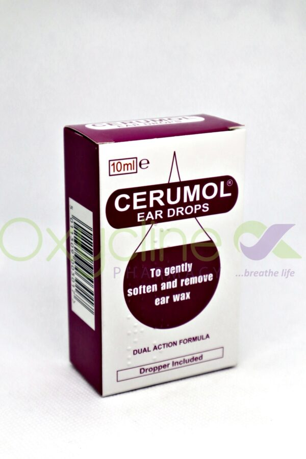 Cerumol Uk Ear Drops 10ml
