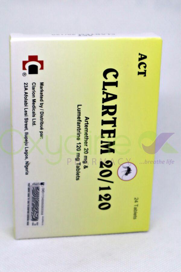 Clartem 20/120 X 24
