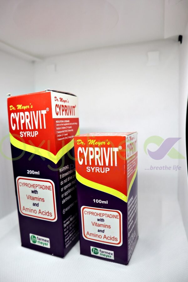 Cyprivit Syr 200ml {M/S}