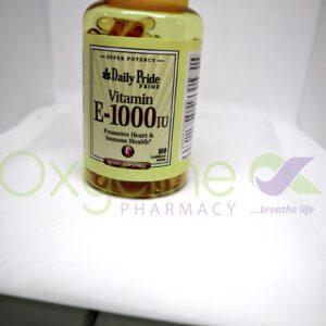 Daily Pride Vitamin E 1000iu