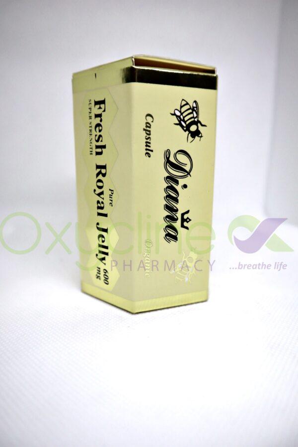 Diana Royal Jelly 600mg X30 Caps