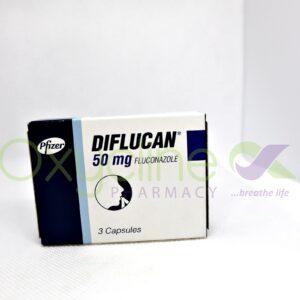 Diflucan Caps 50mg X 3