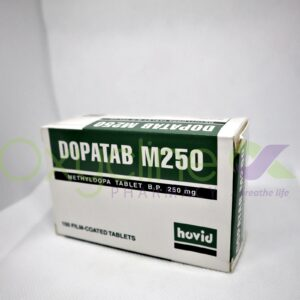 Dopatab 250mg Methyldopa X10