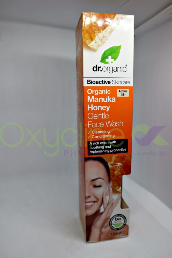 Dr Organic Manuka Honey Face Wash 150ml