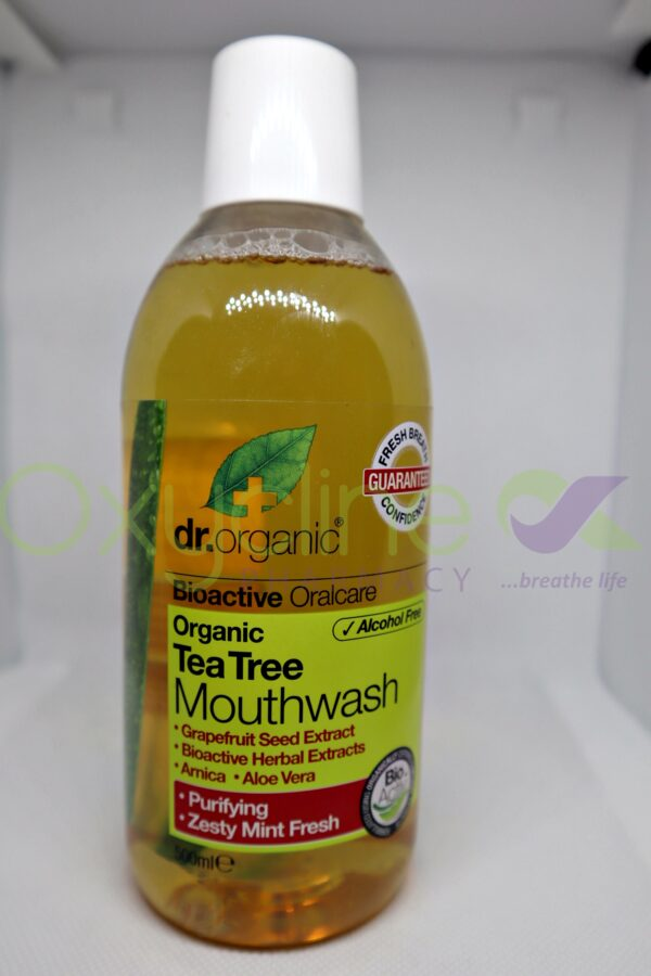 Dr Organic Mouth Wash