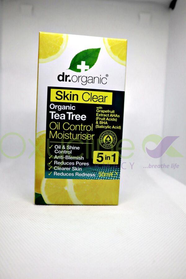 Dr Organic Skin Clear Oil Control Moist 5n1 50ml