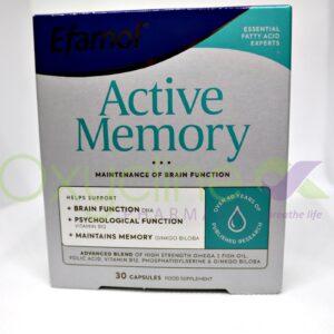 Efamol Active Memory X30
