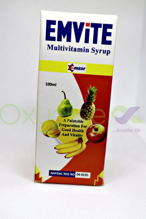 Emvite Multivitamin Syr 100ml (Emzor)