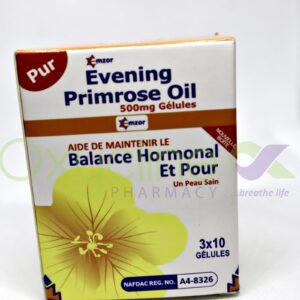Emzor Evening Primprose - 500mg