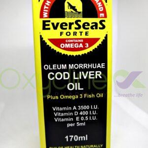 Everseas Forte Cod Liver Oil Liquid 170ml