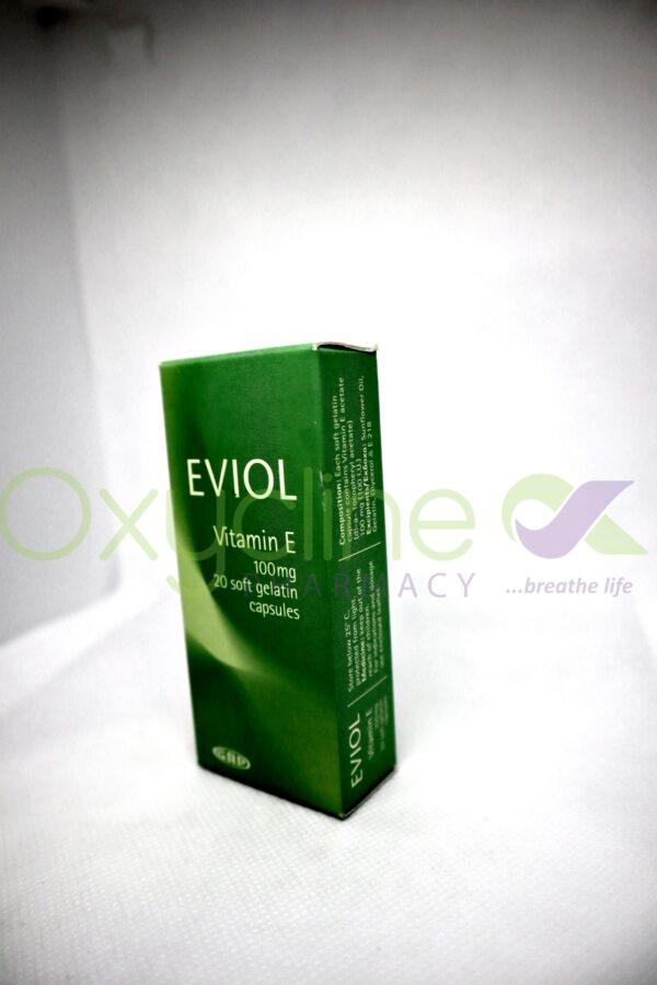 Eviol Vit E 100mg Caps X20