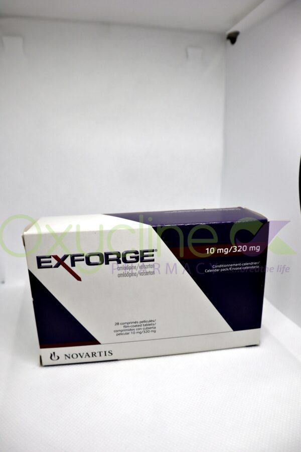 Exforge 10/320mg Tabs X28
