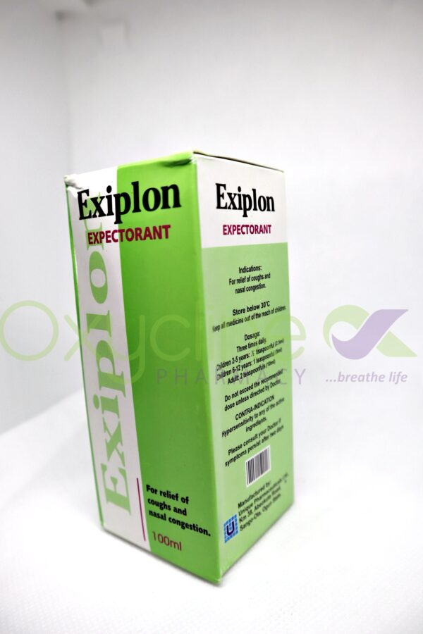Exiplon Expectant Syr 100ml {Adult}