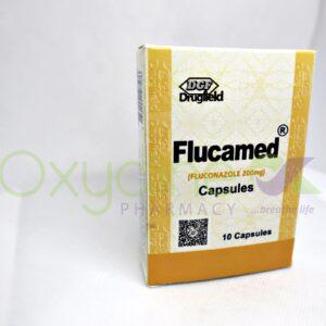 Flucamed 200mg X10 Cap Fluconazole
