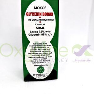 Glycerin Of Borax (Moko) Mouthwash 50ml
